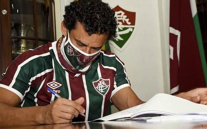 Fred deixou o Fluminense em 2016, quando acertou com o Atlético-MG.