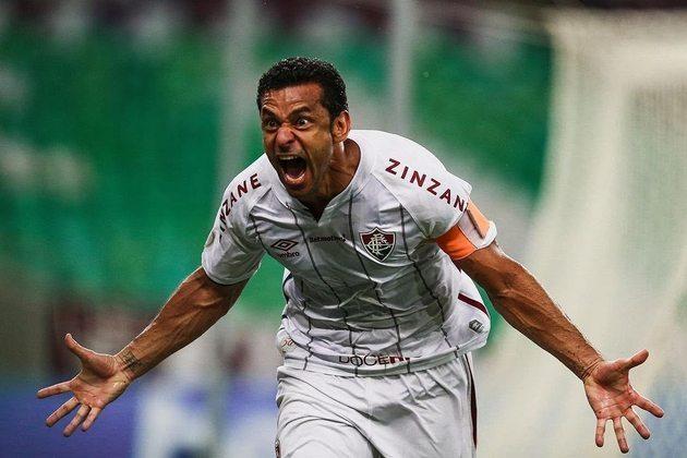 Fred, jogador do Fluminense, é o 10º colocado da lista de artilheiros, com 400 gols marcados, sendo 182 deles pelo Fluminense, clube que mais atuou na carreira