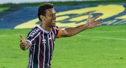 Fred ressaltou a grandeza do Fluminense