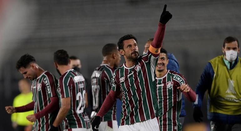 Fred, com duas assistências, liderou vitória e classificação do Fluminense na Libertadores