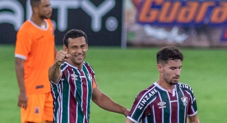 Fred chegou ao gol 400 na carreira na vitória sobre o Nova Iguaçu