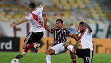 Fred marca e Fluminense estreia na Libertadores com 1 a 1 com o River