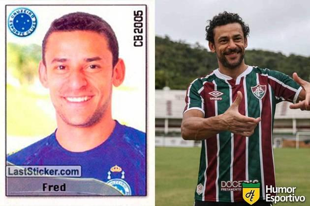 Fred jogou no Cruzeiro em 2005. Inicia o Brasileirão 2021 com 37 anos e jogando pelo Fluminense.