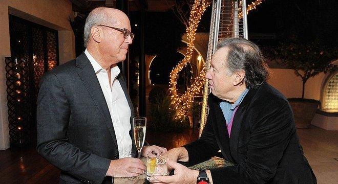 Fred Rosen (direita) é o homem por trás do Netflix dos milionários