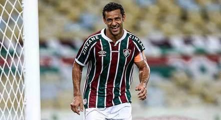 Fred fez o gol do título brasileiro de 2012