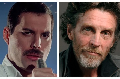 Freddie Mercury e John Glover: caso rápido