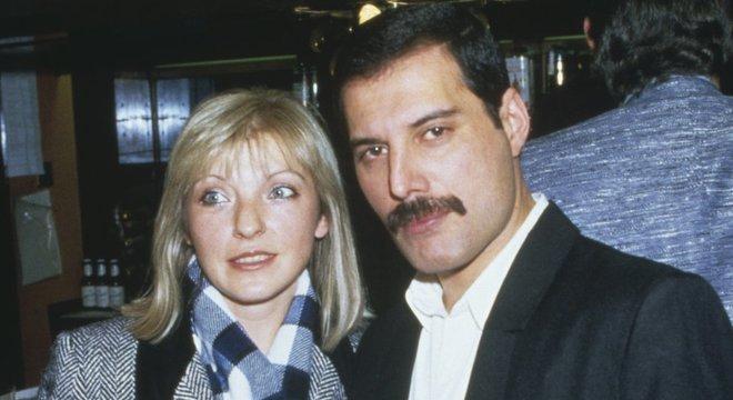 Freddie e Mary Austin tiveram uma relação amorosa que se transformou em uma amizade para a vida