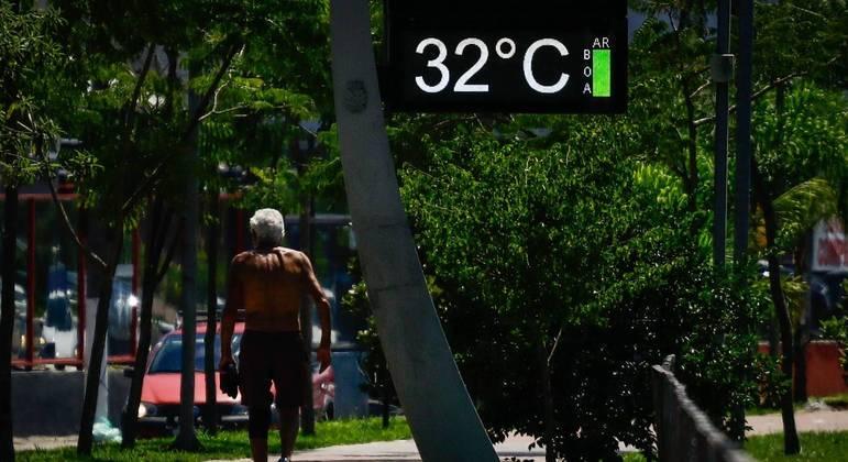 Temperaturas podem superar os 30ºC  em SP