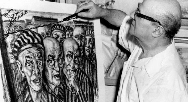 David Friedman retratou diversos aspectos da vida em um campo de concentração