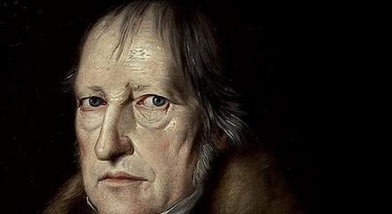 O filósofo Friedrich Hegel