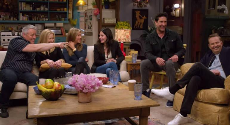 'Friends' ficou no ar por 10 anos e o último episódio da série foi ao ar em 2004