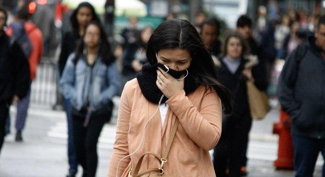 Temperaturas na cidade de São Paulo devem chegar a 5ºC na quinta-feira (4)