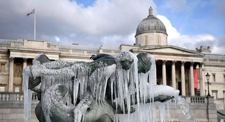 Reino Unido registrou a temperatura mais baixa desde 1995