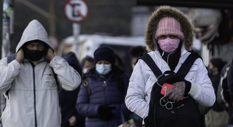 São Paulo registrou a tarde mais fria do ano nesta sexta-feira (30)