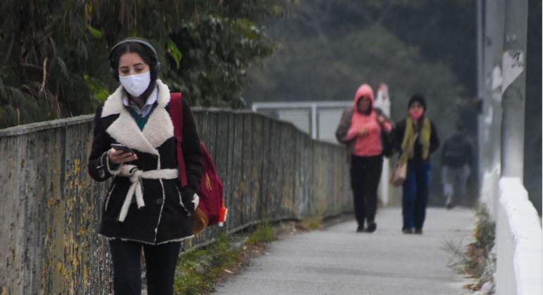 Após onda de frio intenso, temperatura aumenta na cidade de SP