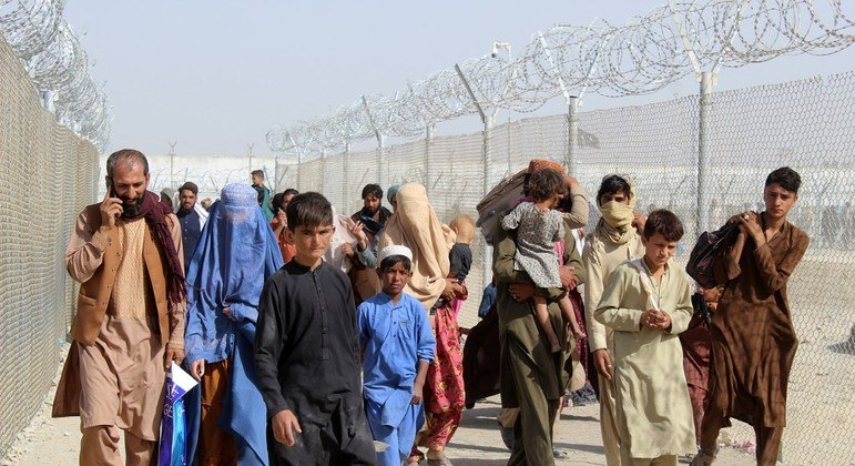 Fronteira do Afeganistão com o Paquistão é uma das mais buscadas pelos refugiados