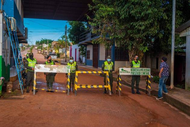 O presidente da Bolívia,Luis Arce, afirmou que nos municípiosbolivianos fronteiriços onde for verificada a