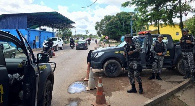 Governo enviou reforços da Força de Segurança Nacional para Roraima