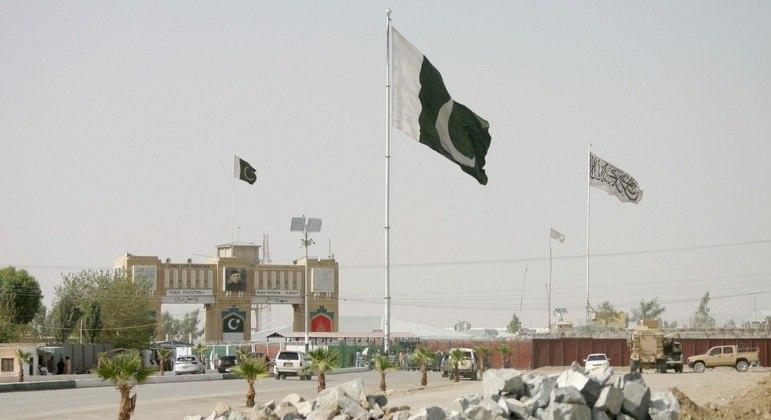 Fronteira entre o Afeganistão e o Paquistão