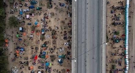 Fronteira na cidade de Del Rio foi reaberta nos EUA