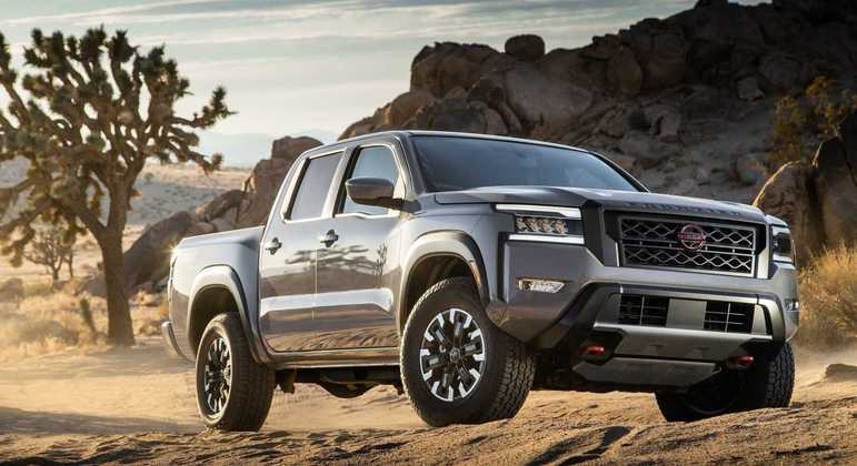 A Nissan apresentou essa semana a nova Frontier para o mercado norte-americano. Com visual renovado e motor V6