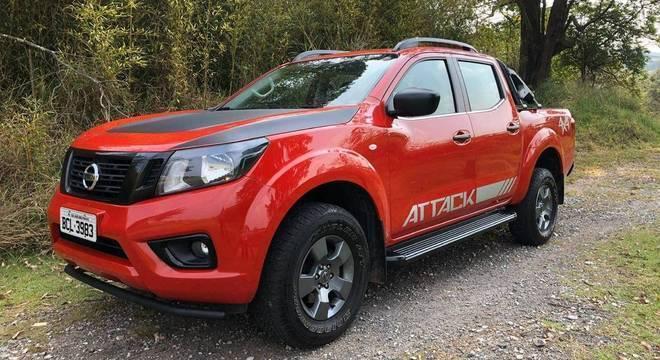 """Frontier Attack, versão """"custo benefício"""" da pickup agora fabricada em Córdoba, na Argentina"""