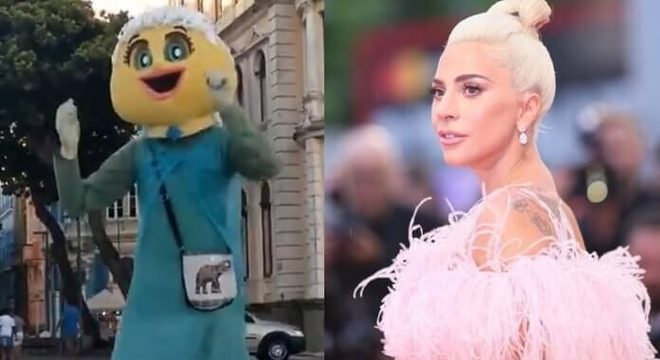 Frozen do Marco Zero e Lady Gaga