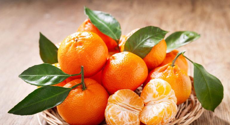 Fruta tangerina