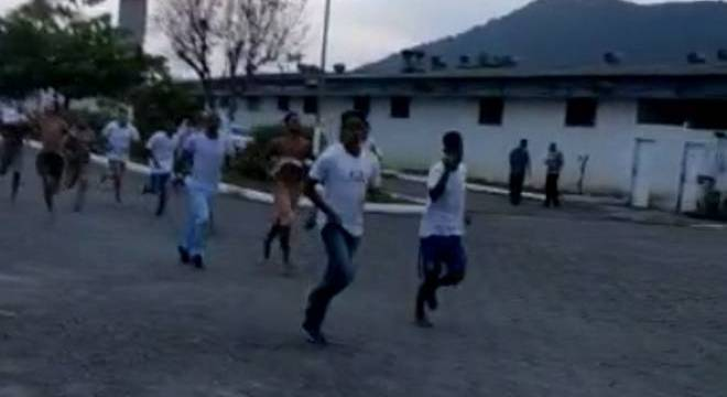 Presos de Mongaguá em fuga