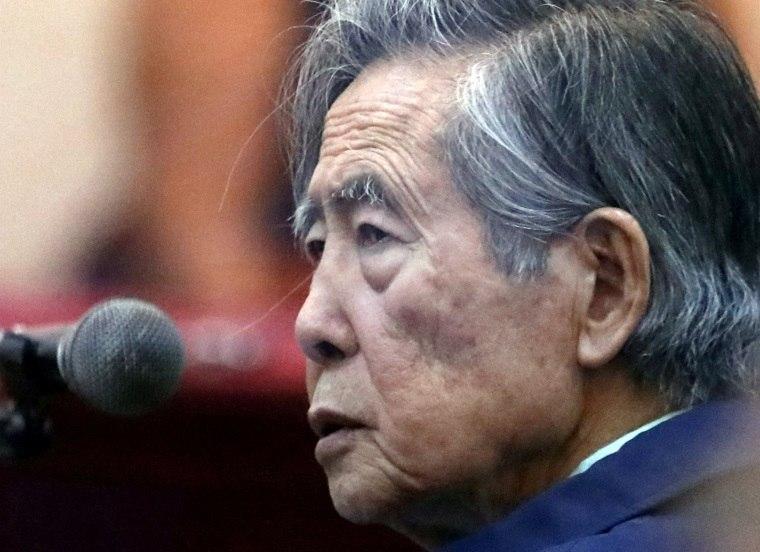 2bfa20cee Ex-presidente Alberto Fujimori terá de voltar à prisão no Peru