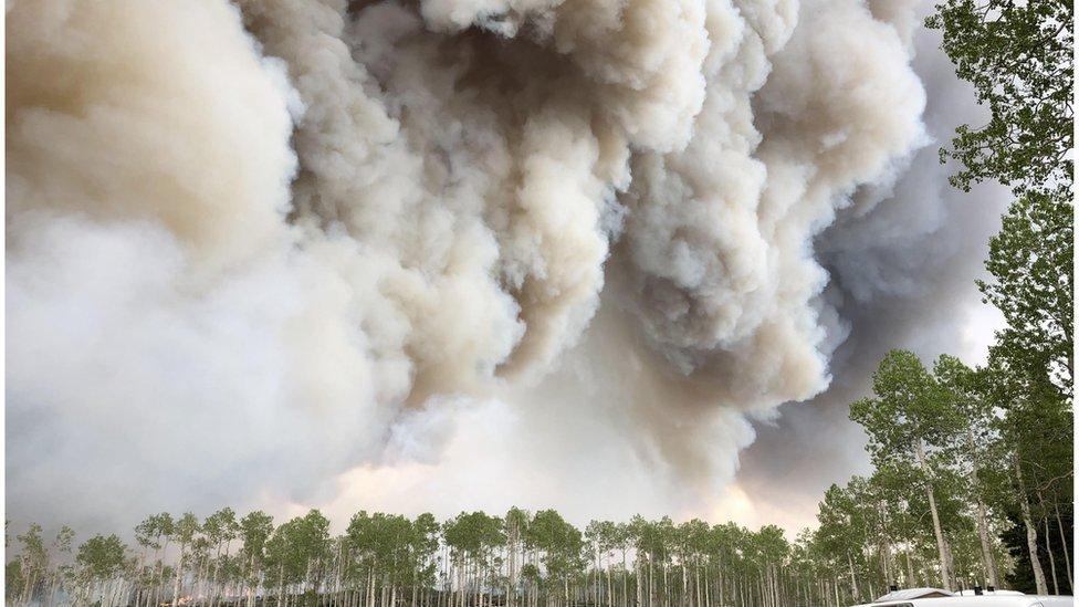 É um monitoramento maior da fumaça de incêndios florestais, dizem os pesquisadores