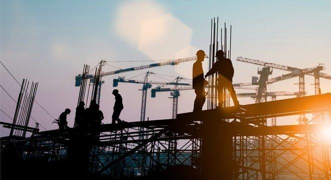 Após 20 trimestres consecutivos de queda, construção subiu 2% na comparação com igual trimestre do ano anterior