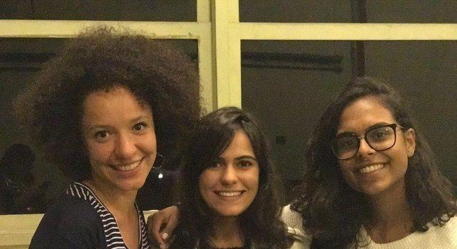As idealizadoras do Minas Programam Ariane Cor, Fernanda Balbino e Bárbara Paes