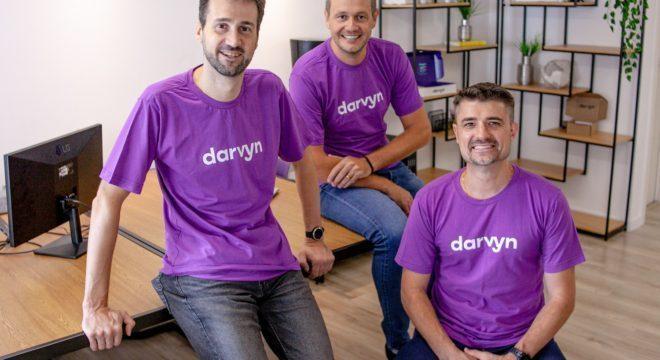 Fundadores da Darvyn, startup focada em saúde masculina