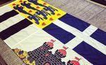O caixão de Philip estará envolto na sua bandeira pessoal, que representa o Brasão de Armas Dinamarquês, a bandeira da Grécia, a família Mountbatten e também o castelo de Edimburgo