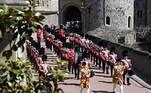 Muito antes de seu falecimento, no último dia 9, o príncipe Philip já havia deixado claro,no funeral que ele mesmo ajudou a planejar,que iria querer uma cerimônia pequena, sem toda a pompa de uma despedida de chefe de Estado