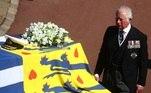 Philip deixou prontos os detalhes do cerimonial, a bandeira que deveria envolver o caixão, as medalhas e símbolos de sua carreira militar que deveriam ficar expostos