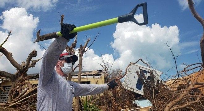 Furacão Dorian causou danos enormes nas ilhas das Bahamas