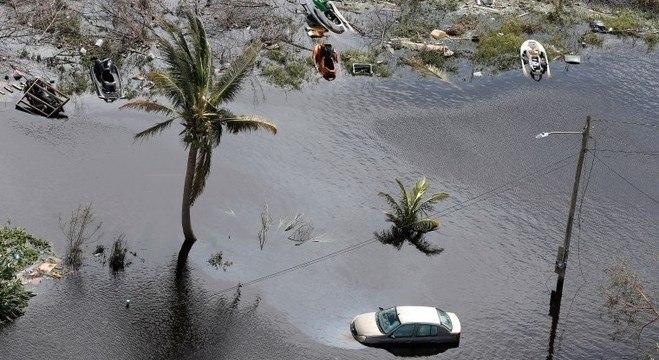 Destruição causada pelo furacão Dorian já deixou 20 mortos nas Bahamas