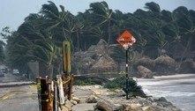Furacão Grace se fortalece enquanto percorre litoral do México