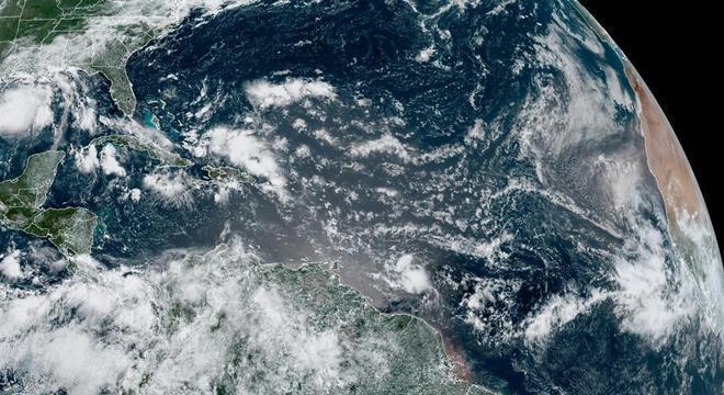 Primeiro furacão deste ano no Atlântico, no Golfo do México
