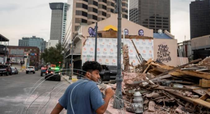 Os pedidos semanais de seguro-desemprego nos Estados Unidos aumentaram após o furacão Ida