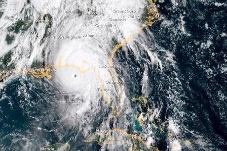Furacão Michael chegou à Flórida nesta quarta (10)