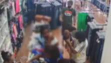 Suspeitos usam bebê para despistar furto em loja de biquínis em BH