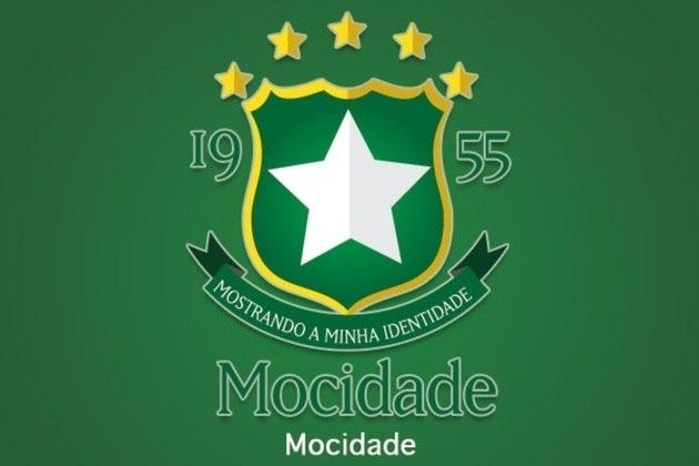 Fusão dos escudos: Mocidade Independente de Padre Miguel e Everton