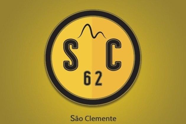 Fusão dos escudos: São Clemente e Borussia Dortmund