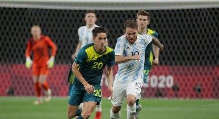 Jogador olímpico da Argentina parece fisicamente com Messi