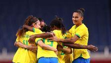 Brasil vence a Zâmbia e está nas quartas de final do futebol feminino
