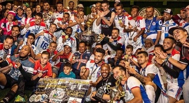 Na 11ª Copa da Paz, Pionneer levou R$ 30 mil, troféu e medalhas pelo título