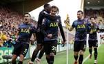 No reencontro de Nuno Espírito Santo com o Wolverhamptom, o Tottenham venceu, fora de casa, por 1 a 0, com gol de Dele Alli